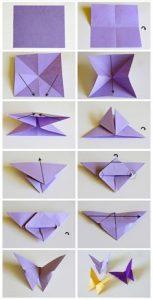 origami papallona
